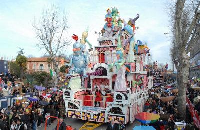 Carnevale di Fano - carri allegorici
